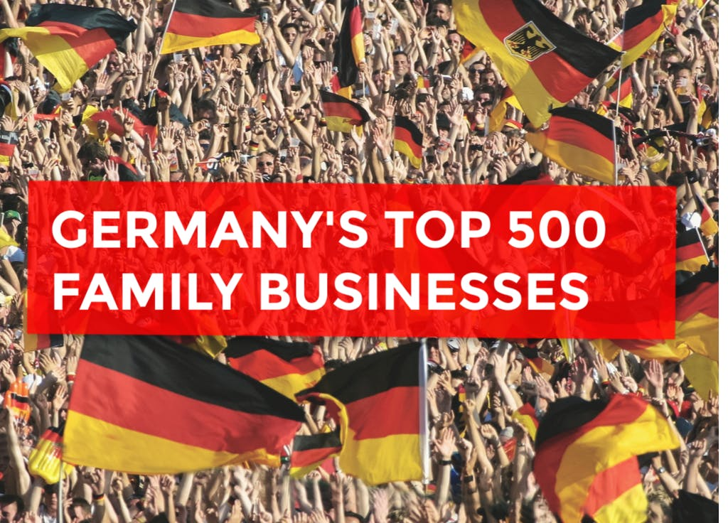 Top 500 German Family Businesses The Economy Most Dependent On Family Enterprises Family Capital